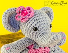Elephant Security Banket Crochet Pattern