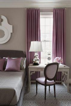 Purple And Gray Bedroom   Design Photos, Ideas And Inspiration. Amazing  Gallery Of Interior Design And Decorating Ideas Of Purple And Gray Bedroom  In ... Idea