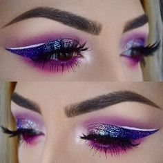 """169 Likes, 8 Comments - tatiana herran (@tatianamishtheartist) on Instagram: """"Throwback to one of my favorite looks!  EYES: @urbandecaycosmetics electric palette @toofaced…"""""""