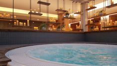 Whirlpool im Saunabereich Spa, Bathtub, Outdoor Decor, Home Decor, Gap Year, Recovery, Bathing, Vacation, Standing Bath
