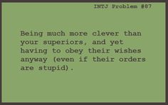 INTJ Problems : Photo