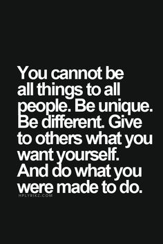 Inspirational Quotes: Be unique  Top Inspirational Quotes Quote Description Be unique