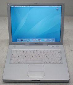 "Apple iBook A1007 G3 800MHz 384MB/40GB/WiFi/DVD-Rom/OSX/14.1"" display 884667040889   eBay"