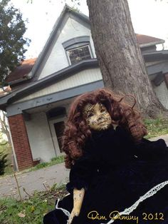 Haunted Ouija Doll as seen on the live 72hr paranormal investigation broadcast.