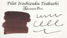 Pilot Iroshizuku Tsukushi - Horsetail (50ml Bottle) Fountain Pen Ink