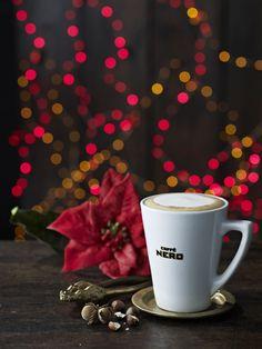Festive lattes at Caffe Nero