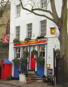 My favorite pub in the world...The Grenadier, London. I tell everyone I know about this cute little pub tucked away in the most secret of mews, when I know they are going to the UK.
