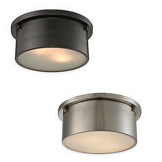 ELK Lighting Simpson 2-Light Flush-Mount Ceiling Light