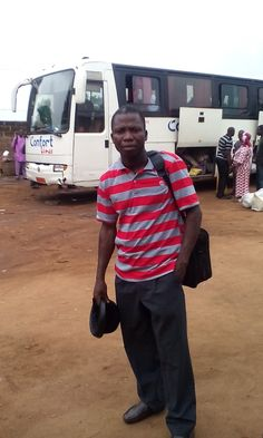 En route POBE from PARAKOU. The Lord be praised for mission accomplished.