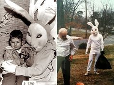 17 Terrifying Easter Bunnies You Must See Read more at: http://laughy.co/terrifying-easter-bunnies/