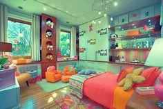 オシャレで可愛い海外の子供部屋024.