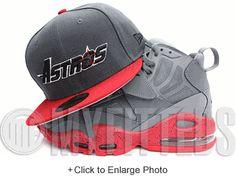 f48d180e362 HOUSTON ASTROS AIR JORDAN IX BARONS NEW ERA 59FIFTY FITTED HAT