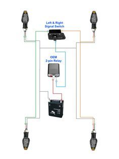 Electronic Blinker Relay Cf13 002 Motorcycle Wiring Relay Hazard Lights