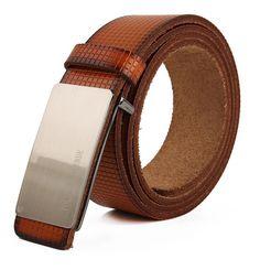 News Mens Classic Premium Stylish Fashion Real Leather Belt Alloy Buckle Real Leather Belt, Leather Belts, Belt Shop, Men's Belts, Shoes Men, Men's Jewelry, Belt Buckles, Metals, Men's Fashion