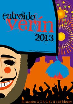Cartel del Carnaval Verín Entroido 2013