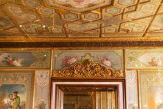 Ceiling Detail, Caffe Florian, Venice, by Georgianna Lane