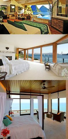 Amazing Bedrooms with Magnificent Views -