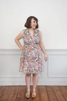 Vintage Shirt Dress Sewing Pattern - Sew Over It Simplicity Sewing Patterns, Dress Sewing Patterns, Vintage Sewing Patterns, Sewing Ideas, Vintage Veils, Vintage Dresses, Sew Over It, Fashion Sewing, Vintage Shirts