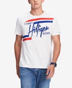 a6d2efa69a Tommy Hilfiger Denim Men s Windsor Graphic T-Shirt