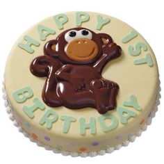 Monkey Messenger Cake