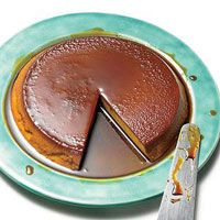 Pumpkin Flan  Rach's pal Daisy Martinez whips up a spiced dessert that's just right for the season.