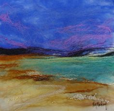 Moy Mackay from my home town who uses textiles for her pictures