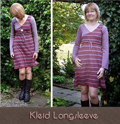 Kleid Longsleeve by #Allerlieblichst