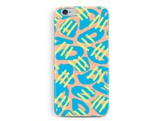 Patterned Phone Case, Coral Phone case, Apple iPhone case, Ethnic Pattern, gifts for her, Gift Ideas, colourful phone case, surface pattern