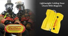 Fat Ivan Lightweight Folding Door Chock With Magnets