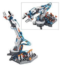 Hydraulic Robotic Arm Kit makes a great gift for that budding engineer. Find other science kits at ComputerGear.com.