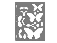 Plantilla Diseño Mariposas para Shapecutter