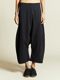 MarvieLab Cumbini Women's Drop Crotch Pants | LN-CC Too bad they're $1100... Lol