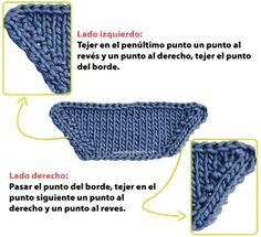 aumentos dos en uno dos agujas tejiendoperu.com