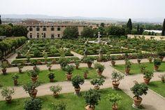 Florence, Via di Castello, Parco e giarino della Villa Medicea di Castello a