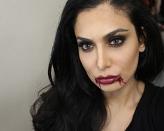 REQUESTED! Last Minute Easy Vampire Makeup (Video)!