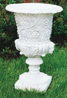 Large Planters - Italian Planters, Italian Urns Marble Planter and Outdoor Flower Pots