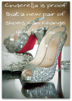 Totally love this.  I should print it and hang it above my hubbies desk.  Maybe then he will give in to my LOVE of shoes.  :)