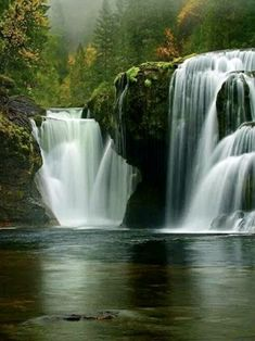 Beautiful Waterfalls, Beautiful Landscapes, Beautiful Dream, Beautiful World, Nature Pictures, Cool Pictures, Les Cascades, Nature Water, Jolie Photo