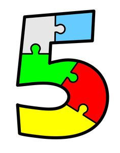 found under Joel number 5 puzzle Ramadan Activities, Creative Activities For Kids, Math For Kids, Math Activities, Toddler Activities, Numbers For Kids, Numbers Preschool, Learning Numbers, Alphabet And Numbers