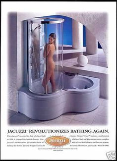 adds 90's Jacuzzi Bath Shower (1998)