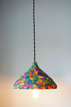 3D Printed Gaudì Inspired Lamp - work by creative artist Daniel Hilldrup. 3D Printing Industry