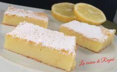 Mattonella di ricotta yogurt e limone, un dessert fresco a cui è impossibile resistere, il sapore è davvero unico e delicato