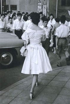 Early 1960s Japan #Japan #fashion #style #1960s