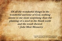 Gardening quote - Julie Moir Messervy