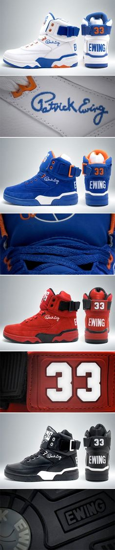 Patrick Ewing 33 redition -  they are sexy