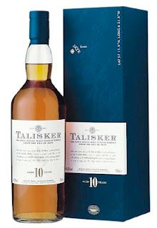 Talisker 10y #itaste #ilike   Wow, this is quite splendid! To be true, it almost tops the 18y. The nose offers spicy chocolate, obfuscating the tones of medicinal peat. Schreds of apple give the whole a Canada Dry-esque touch. All of this perfectly balanced. The taste feels like the harmonious wedding of sweet and peat, with the alcohol punching in right on time to start the party. When I hit the bottom of my 18y, I might even be replacing him with his younger brother. Seriously good stuff.