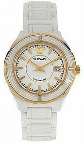 Luxstyle4u - Versace Watches DV One Ceramic Automatic Watch With Diamonds In White $3,490