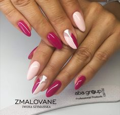Nagellack Wedding Dresses And Their Importance A wedding is a solemn occasion. Glam Nails, Beauty Nails, Cute Nails, Pretty Nails, Pink Nail Art, Pastel Nails, Pink Nails, Almond Acrylic Nails, Cute Acrylic Nails