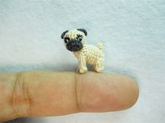 tiny crocheted animals by su ami