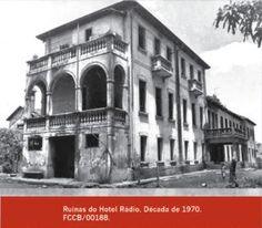 Lugares Esquecidos: Ruínas do Hotel Rádio - Araxá - MG - com fotos de Antonio Francisco Macedo de Oliveira